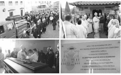 Restos mortais de D. António Barroso recolhem à Igreja paroquial