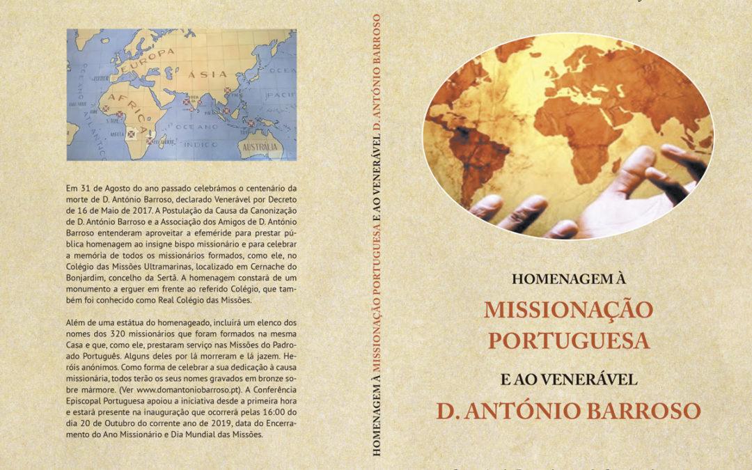 Livro: Homenagem à missionação portuguesa e ao Venerável D. António Barroso