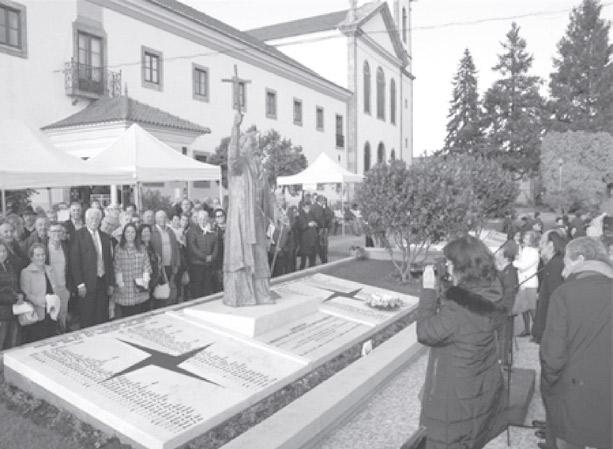 Contas em dia – Monumento a D. António Barroso e à missionação portuguesa